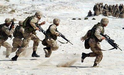 海兵隊の訓練