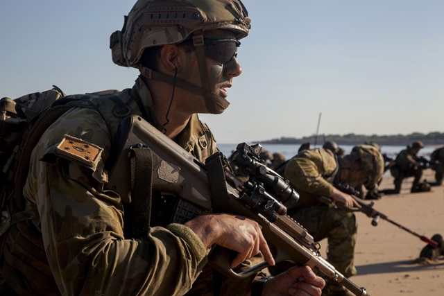 オーストラリア軍兵士