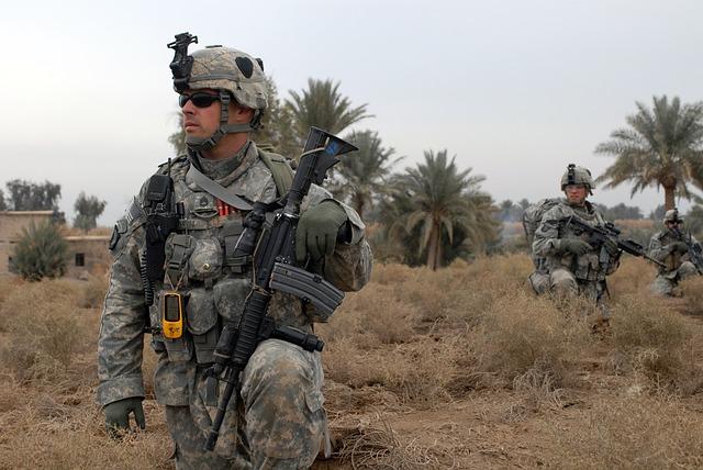 アメリカ軍正規兵