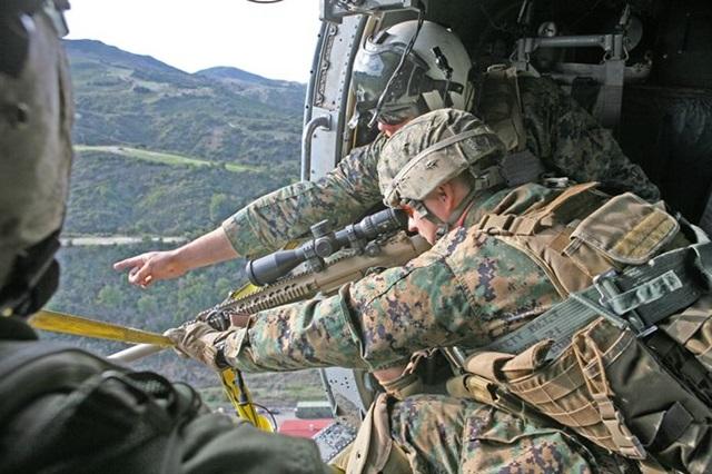 回転翼機からの狙撃