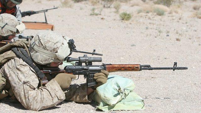 狙撃訓練SVDドラグノフ