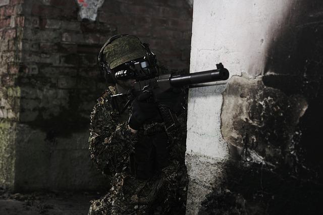壁越しの狙撃