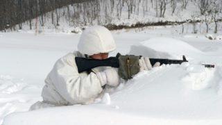 自衛隊冬装備