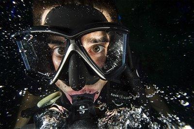 水中ゴーグル