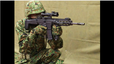 自衛隊新制式20式小銃 HOWA RIFLE TYPE20