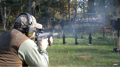 HK MP7A1のFull-Auto射撃