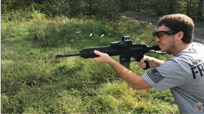 HK416のFull-Auto射撃